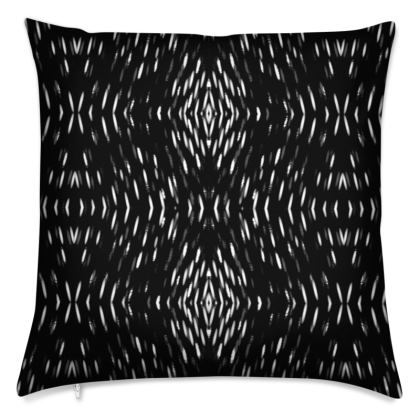 Black Illusion Cushions