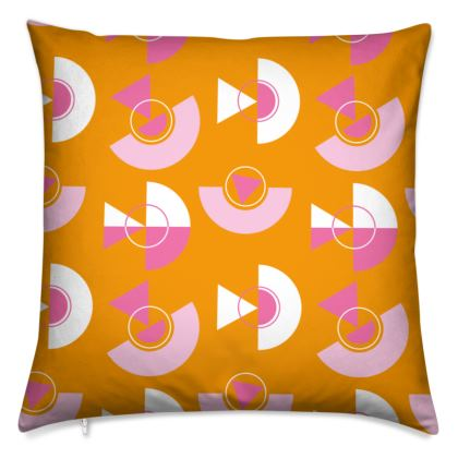 Playground Cushions in Orange
