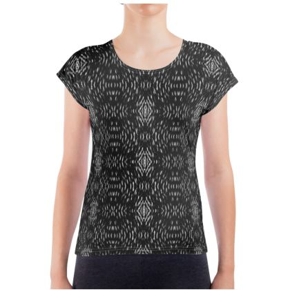 Black Illusion Ladies T Shirt
