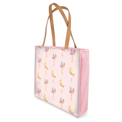 Pale Popsicle Beach Bag