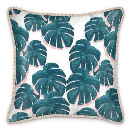 Cheese Leaf Silk Cushion
