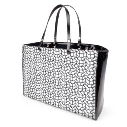 Wriggly Bits Handbags in Black and White