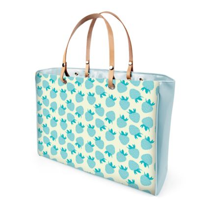 Berrylicious Handbags in Beige Blue Raspberry