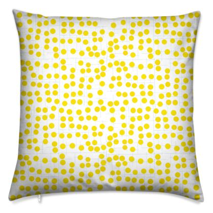 Spot On Cushions in Yellow