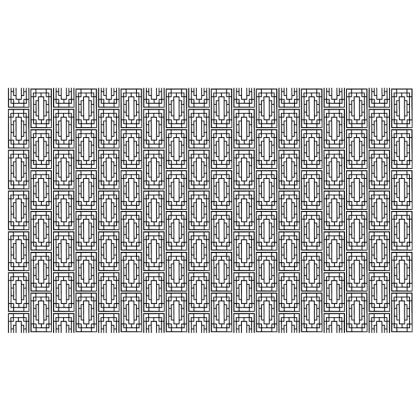 China Girl  Zip Top Handbag in Black and White