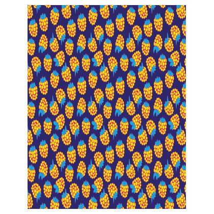 Berrylicious Trays in Yellow Blue Raspberry
