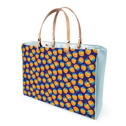 Berrylicious Handbags in Yellow Blue Raspberry