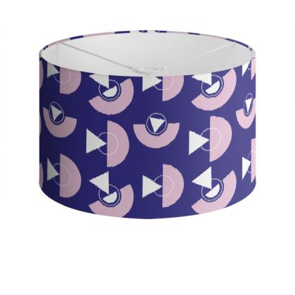 Playground Drum Lamp Shade in Violet