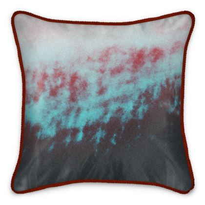 "Silk Cushion ""Corrugated"""