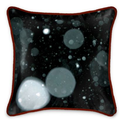 "Silk Cushion ""Blue"""