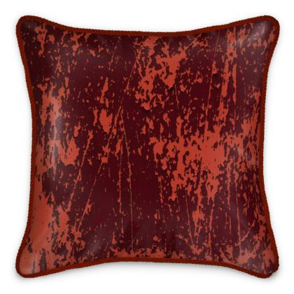 "Silk Cushion ""Orange"""