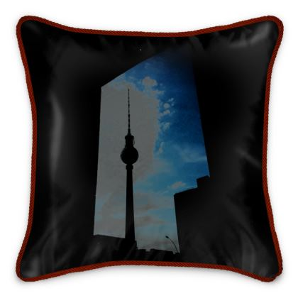 "Silk Cushion ""Framed"""