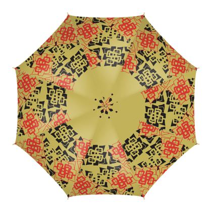 Abstract Diamond - Umbrella (Yellow Gold)