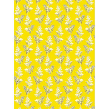 Forest Fern Trays in Bright Yellow