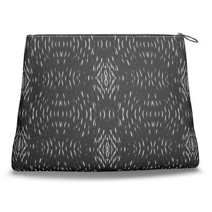Black Illusion Clutch Bag