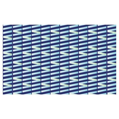 Zig My Zag Zip Top Handbag in Blue