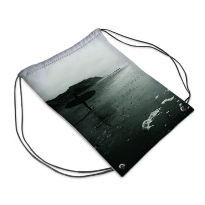 "Drawstring Bag ""Surfer"""