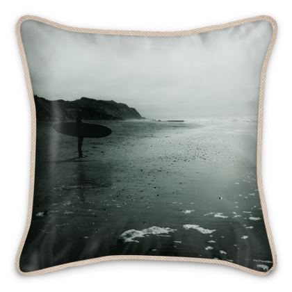 "Silk Cushion ""Surfer"""