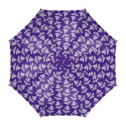 Forest Fern Umbrella in Violet