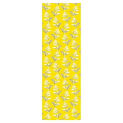 Forest Fern Deckchair in Bright Yellow
