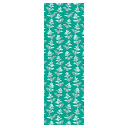 Forest Fern Deckchair in Jade Green