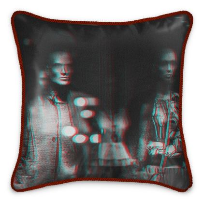 "Silk Cushion ""Mannequin"""