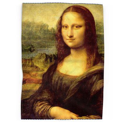 Mona Lisa Tea Towels