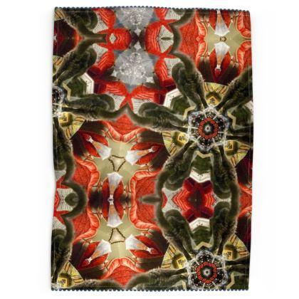 Cat Butt Kaleidoscope Tea Towels