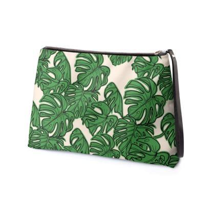 Cheese Leaf Clutch Bag