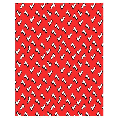 Cartoon Kid Trays in Tomato Red