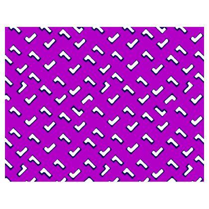 Cartoon Kid Handbags in Purple