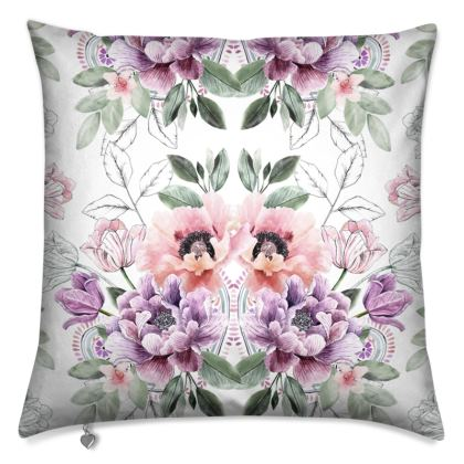 Pretty Floral Forever Cushion