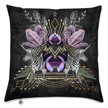 Zebra Magic Cushion