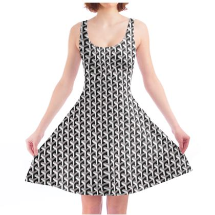 Skater Dress - optical illusion