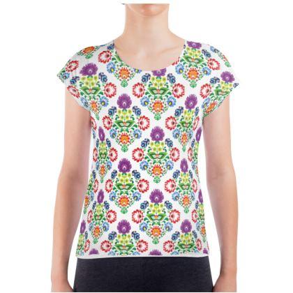 Ladies T Shirt - folk pattern