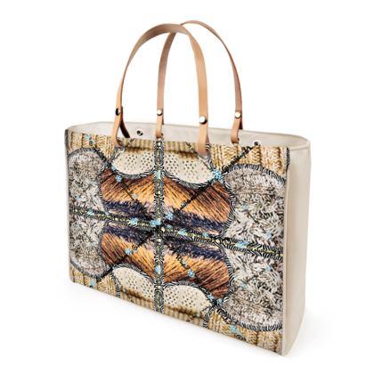 Leder Ladies Shopper Bag ninibing34