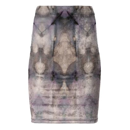 "Pencil Skirt ""Arrow Grunge"""