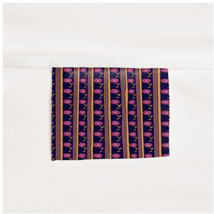 Floral stripes Long Slip Dress