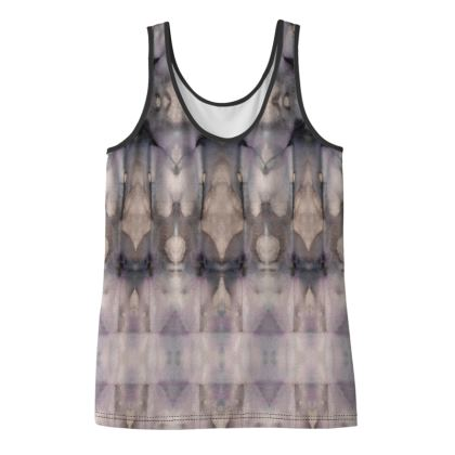 "Ladies Vest Top ""Arrow Grunge"""