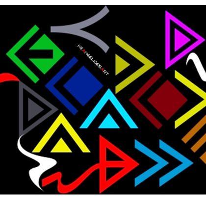 Wapi Hapo Cut and Sew T Shirt
