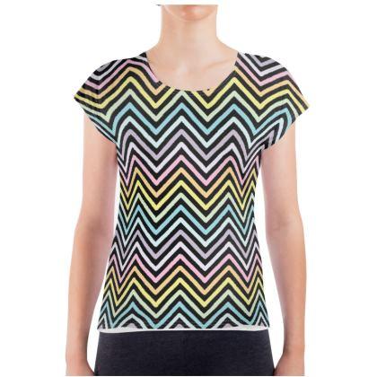 Ladies T Shirt - zigzack