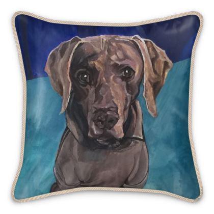 Amber Silk Cushion