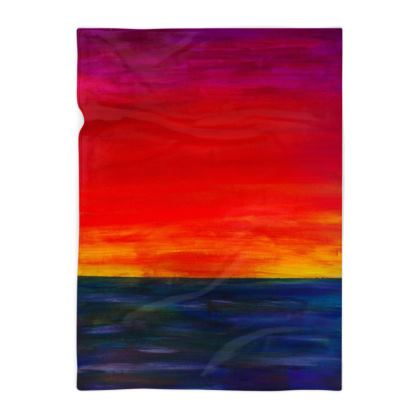 Sunset Blanket Medium