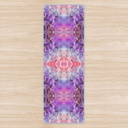 Light Mandala Yoga Mat