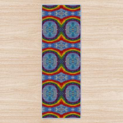 Infinite Rainbows Yoga Mat