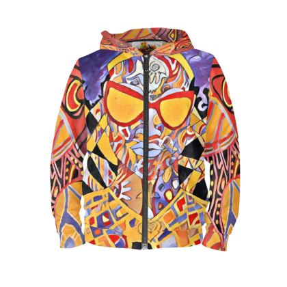 Nubian Nsa queen .Sweat à Capuche