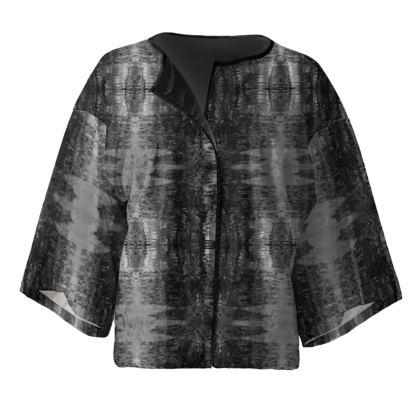 "Kimono Jacket ""superficiem aqua"""