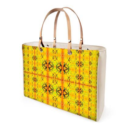 349,- ORCHID YELLOW Handtasche, HAND bAG, SHOPPER bag ninibing34