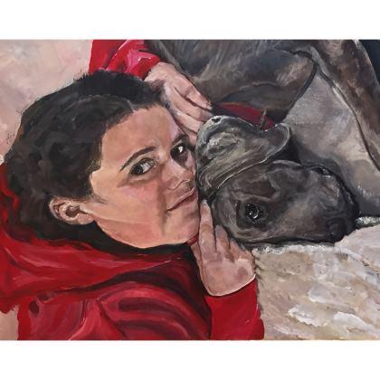 Amber and Savannah Cushion