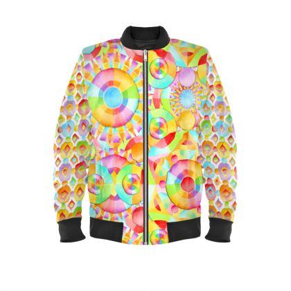 Neon Circus Ladies Bomber Jacket